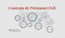 Contrato de Préstamo Civil.