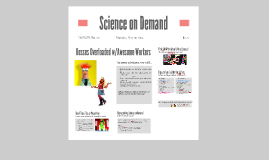 Science on Demand