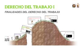 DERECHO DEL TRABAJO I