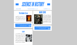 SCIENCE IN HISTORY