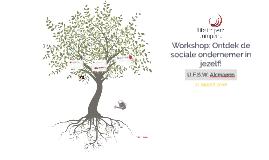 Workshop: Ontdek de sociale ondernemer in jezelf!