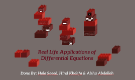 system of equations application in real life