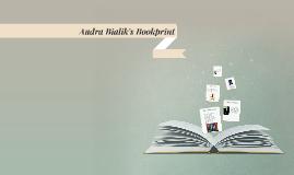 Audra Bialik's Bookprint