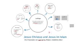 Jesus Christus und Jesus im Islam