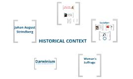 Miss Julie: Historical Context