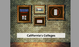 Copy of California's Colleges: 4 Systems