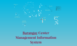 Barangay Center Management Information System