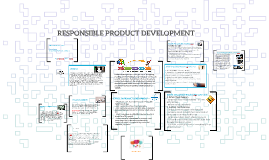 RESPONSIBLE PRODUCT DEVELOPMENT