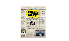 Best Buy: HR scandal in the News
