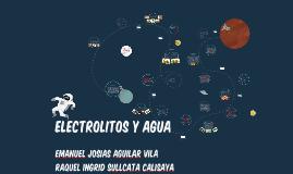 ELECTROLITOS Y AGUA