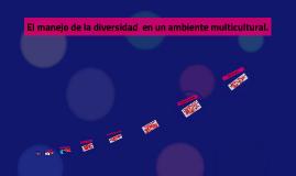 Copy of El manejo de la diversidad  en un ambiente multicultural.