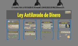 Ley Antilavado de Dinero(1)