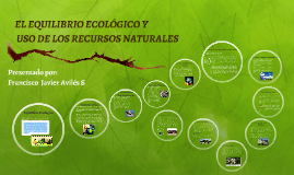 Copy of EL EQUILIBRIO ECOLÓGICO Y