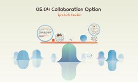 05.04 Collaboration Option