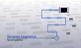 Variación Lingüística
