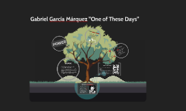 "Copy of Gabriel García Márquez ""One of These Days"""