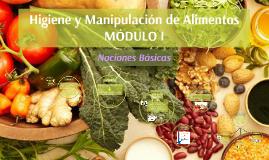 Higiene y Manipulación de Alimentos - MODULO I