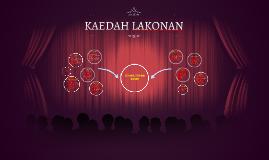KAEDAH LAKONAN