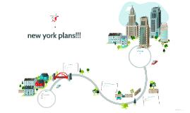 new york plans!!!