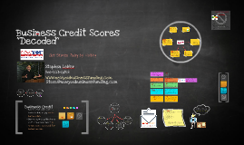 Business Credit Scores