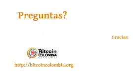 Bitcoin Colombia basico - bitcoincolombia.org