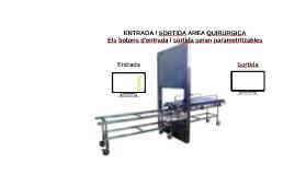 ENTRADA / SORTIDA AREA QUIRURGICA