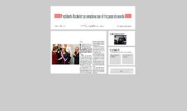 presidenta bachelet se emociono con el traspaso de mando
