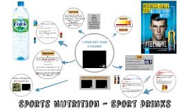 Sports Nutrition - Sport Drinks