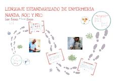 Lenguaje estandarizado (NANDA, NOC y NIC)