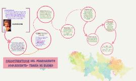Copy of CARACTERISTICAS DEL PENSAMIENTO ADOLESCENTE- TEORÍA DE ELKIN