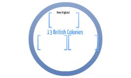 13 British Colonies
