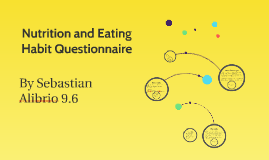 Nutrition and Habit Questionare