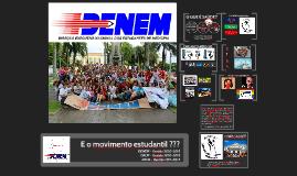 Cópia de Copy of Copy of Direção Executiva Nacional de Medicina - DENEM