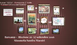 Barcamp Riccione 26-27 settembre 2016