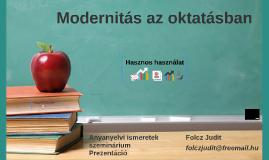 Modernitás az oktatásban