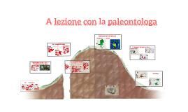 a lezione con con la paleontologa