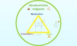år 6 Abrahamitiska religioner
