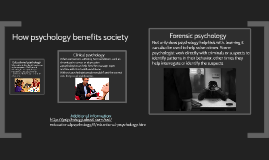 How psychology benefits society