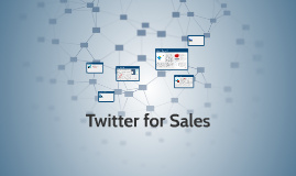 Using Twitter for Social Selling
