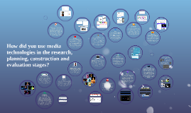 How did you use media technologies in the research, planning