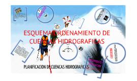 MANEJO DE CUENCAS HIDROGRÁFICAS