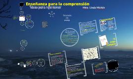 Copy of Enseñanza para la comprensión