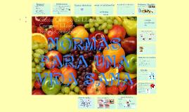 Copy of Normas para una Vida Sana