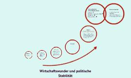 Wirtschaftswunder und politische Stabilität