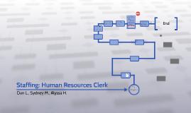 Staffing: Human Resources Clerk