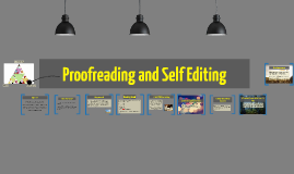 Proofreading and Self Editing