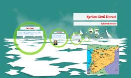 Syrian Civil Unrest
