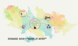 "Summer 2015--""make it new!"""