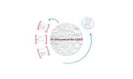 An Overview of the OSSLT