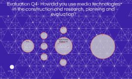 Evaluation Q4- How did you use media technologies in the con